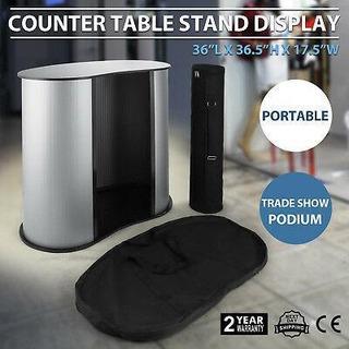 Podium Tabla Contador Stand Comercio Mostrar Pantalla G-7382