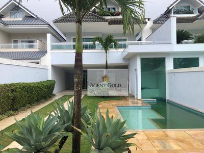 Casa Residencial À Venda, Recreio Dos Bandeirantes, Rio De Janeiro - Ca0161. - Ca0161