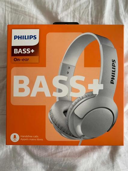 Headphone/fone Philips Bass Na Caixa