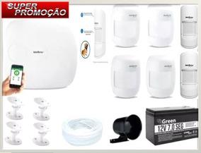Kit Alarme (com Sensor Pet) -amt 1016 Net 16zonas Intelbras