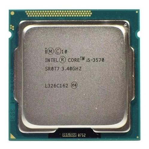 Imagem 1 de 2 de Processador Intel Core i5-3570 CM8063701093103 de 4 núcleos e 3.4GHz de frequência com gráfica integrada