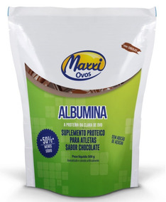 Albumina 500g Chocolate Maxxi Ovos