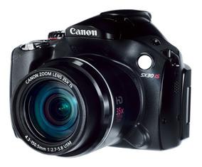 Camera Canon Sx30 Is Sem Bateria E Carregador Nova