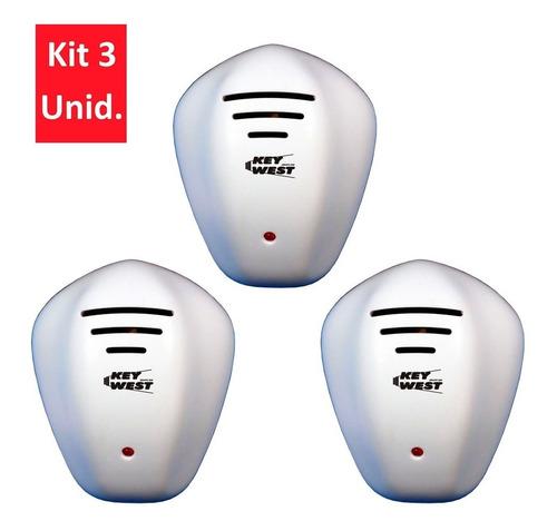3 Repelentes Eletrônicos De Pernilongo, Ratos E Morcegos - Dni 6954