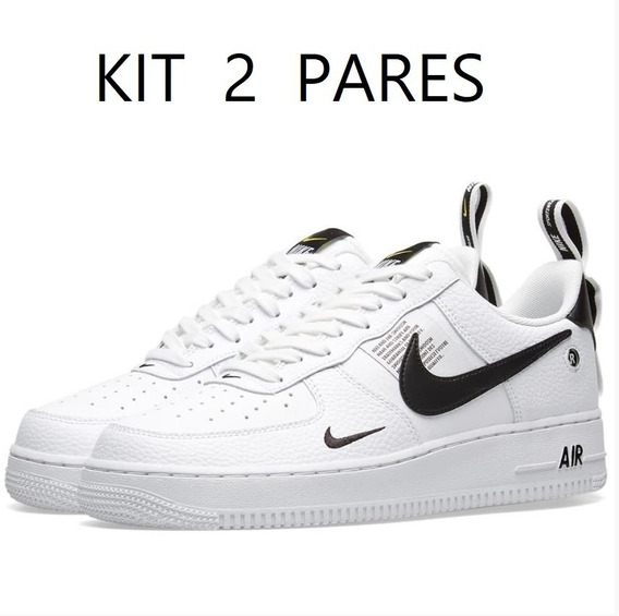 Kit 2 Pares - Tenis Feminino Masculino adidas Air Force