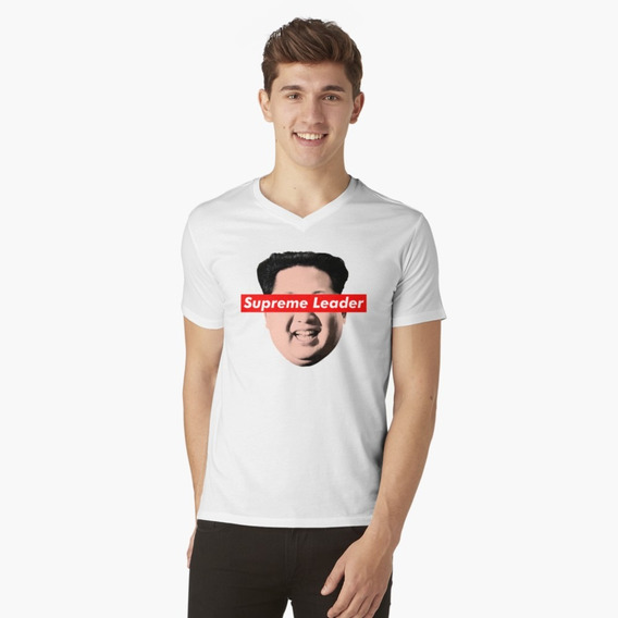 Polera Supreme Leader Un - Kim Jong Un Parody Camiseta De Wi