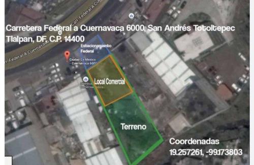 Imagen 1 de 7 de Terreno Urbano En San Andrés Totoltepec, Tlalpan, Ciudad De México