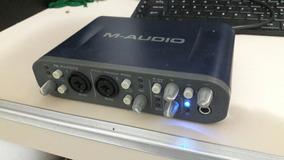 Placa M Audio Fast Track Pro 4x4 Pro Tools