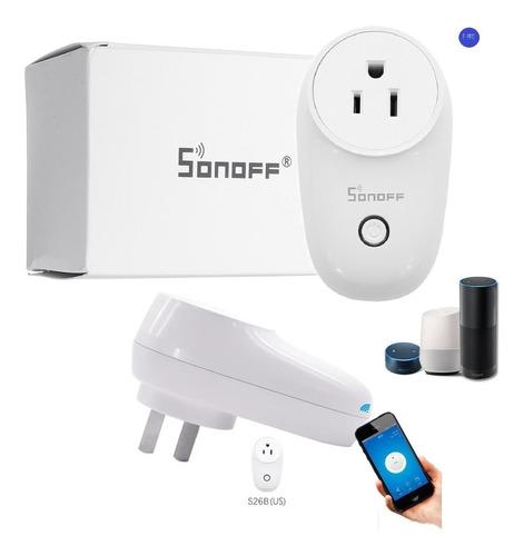 S26 Sonoff Domotica Toma Corriente Interruptor Plug Us