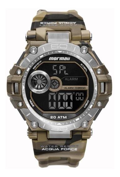 Relógio Masculino Mormaii Mo14073ab/8m 53mm Camuflado Marrom