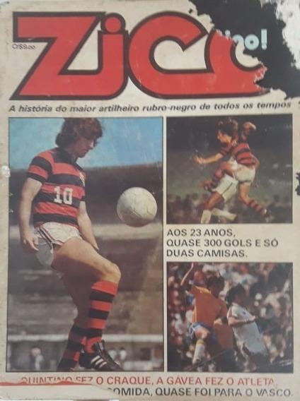 Revista Zico A História Do Maior Artilheiro Rubro-negro 1976