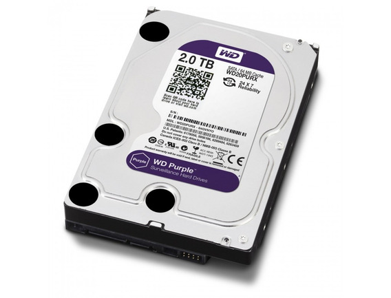 Disco Duro Western Digital Wd Purple 2tb 100% Sata Dvr Pc