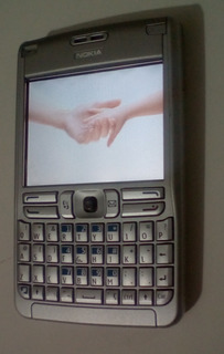 Celular Nokia E62-1 Gsm Prata Desbloqueado