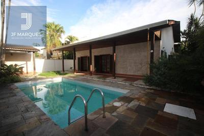 Casa Com 5 Dormitórios Para Alugar, 380 M² Por R$ 5.450/mês - Alphaville Residencial 2 - Barueri/sp - Ca0147