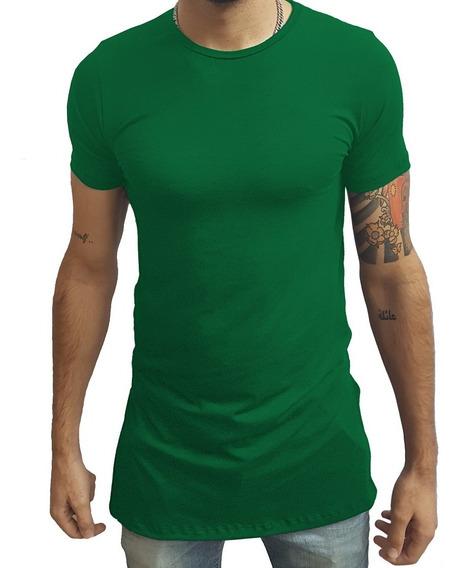 Kit Com 5 Camisetas Oversized Swag Longline Quadrada