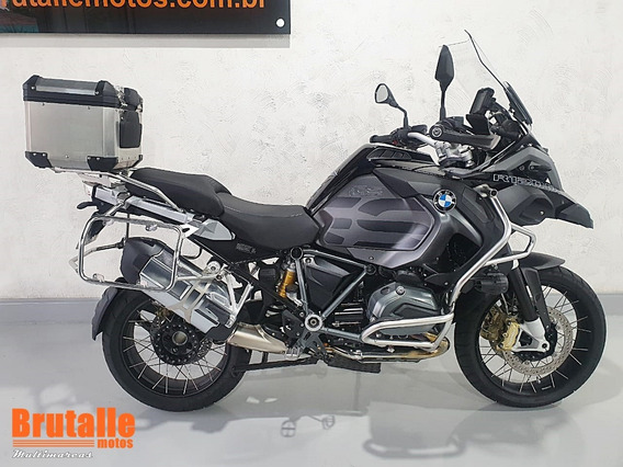 Bmw R 1200 Gs Adventure Triple Black Preta