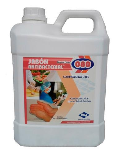 Jabon Antibacterial - 080 Garrafa X 4 L