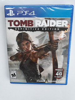 Tomb Raider Juego Ps4 Nuevo Y Sellado En Español