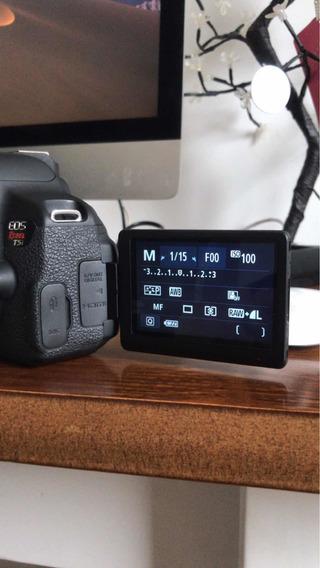 Câmera T5i+lente18-55+2baterias+gripe