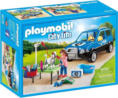 Playmobil Cocheria Lavanderia De Perros 9278 Playset Ink Edu