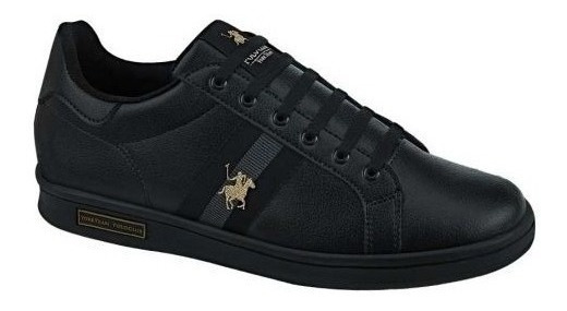 Tenis Casual Polo Club 9424 Negro 829767 Msi