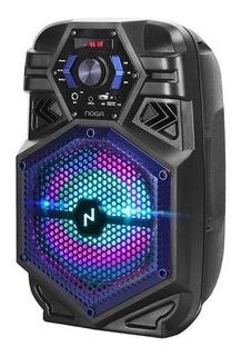 Parlante Portátil Noganet Bt800 Karaoke Bluetooth Usb Fm