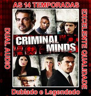 Serie Criminal Minds (1ª Até 14ª Temporada) E Frete Grátis