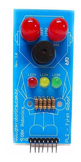Modulo First Robot Pl2 Arduino Gbk Robotics