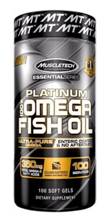 Muscletech Platinum 100% Omega 3 Fish Oil