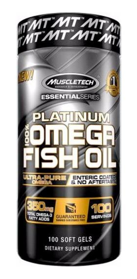 Muscletech Platinum 100% Omega 3 Fish Oil