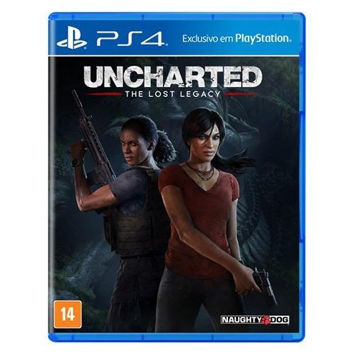 Uncharted The Lost Legacy Ps4 - Mídia Física Lacrado