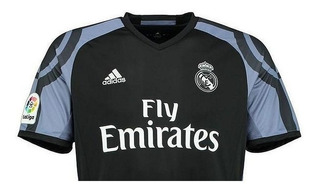 Camiseta De Fútbol Real Madrid Altern 16/17 Cc8