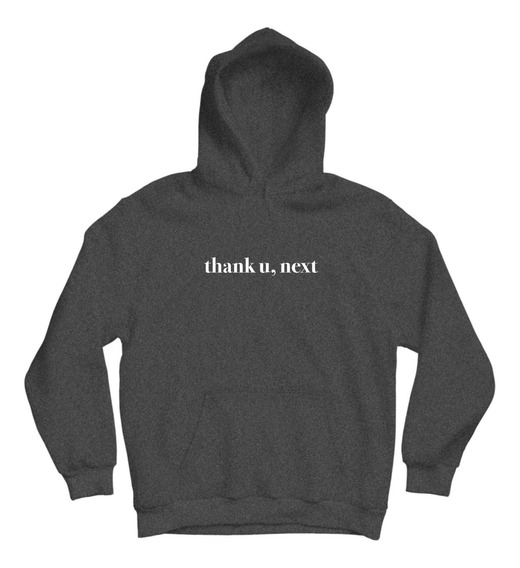 Ariana Grande Sudadera Thank U Next Logo Hoodie