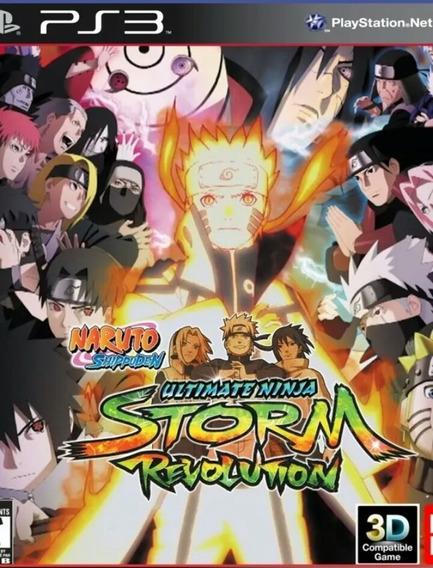 Naruto Shippuden Revolution Ps3 Português Legendas Play3 Buy