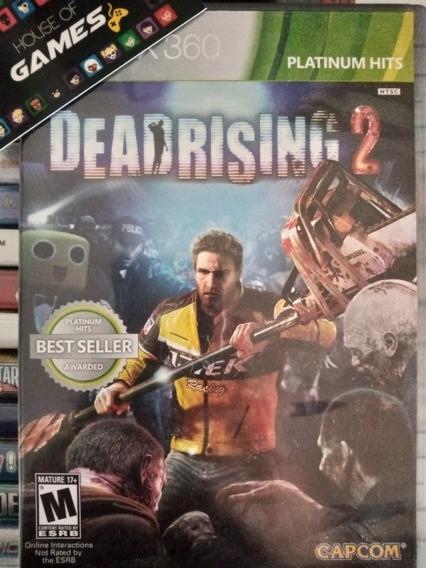 Dead Rising 2 Xbox 360 Mídia Física Usado Com Encarte