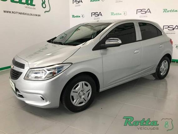 Chevrolet Onix 1.0 - Prata - 2017