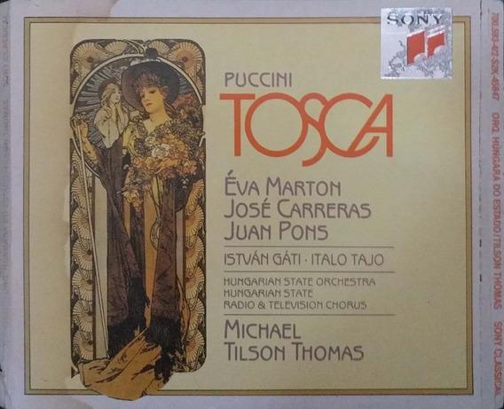 Cd Tosca - Puccini - Michael Gilson Thomas