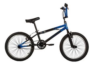 Bicicleta Teknial R20 Pixel Unico Freestyle Ngro/vde