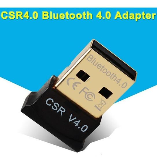 Adaptador Bluetooth Usb 4.0 Para Pc Windows 8 10