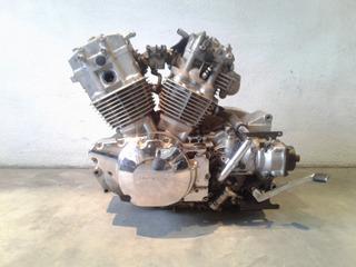 Motor Sin Marcha Para Piezas Dañado Honda Vtx 1300 Año 2003