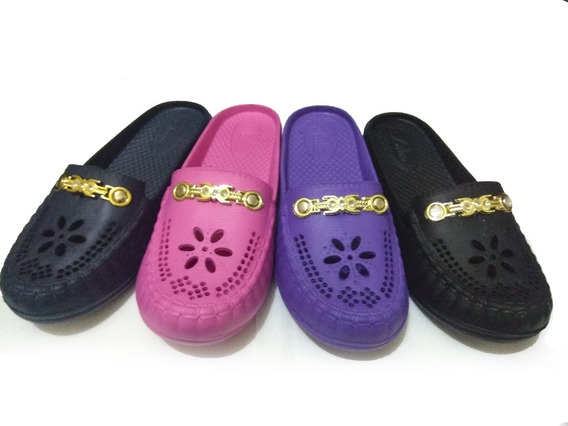 6 Chancla Sandalia Zapato Mayoreo Mujer Colores 826wf
