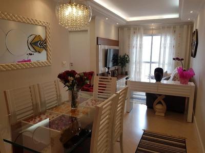 Apartamento Com 2 Dormitórios À Venda, 63 M² Por R$ 360.000 - Vila Baeta Neves - São Bernardo Do Campo/sp - Ap1863