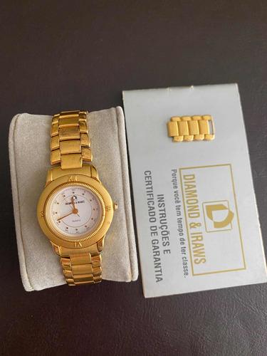 Relógio Feminino Antigo Diamond E Iraws