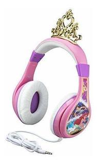 Auriculares Niños Limitador De Vol. Disney Princess [7mj7dk