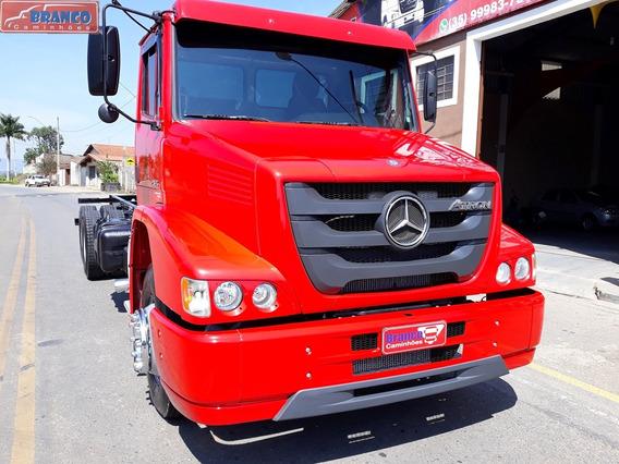 Caminhão Mb Atron 2324 2014,único Dono, 281.000 Km,raridade!