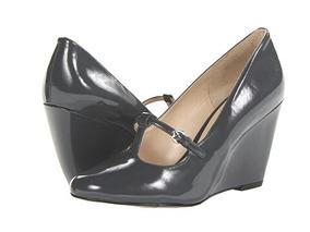 Zapatos Mujer Nine West Gris Oscuro Nuevos