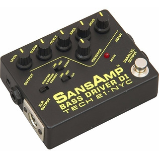 Sansamp Bass Driver Di Preamplificador Para Bajo