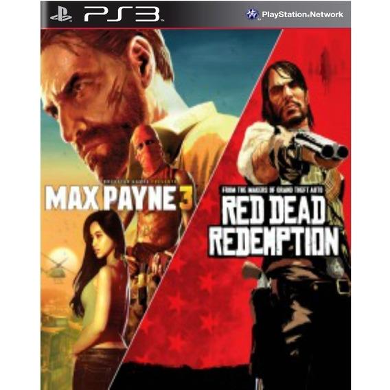 Max Payne 3 E Red Dead Redemption Ps3 Receba Hoje