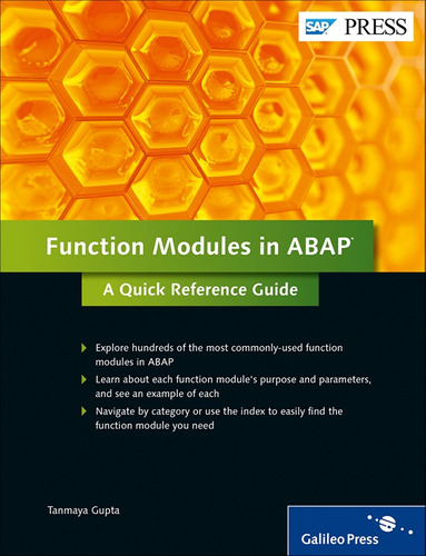 Libro Sap Function Modules In Abap A Quick Reference Guide