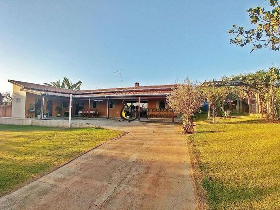 Chácara Com 2 Dormitórios À Venda, 1029 M² Por R$ 550.000 - Chacara Itália - Cosmópolis/sp - Ch0009